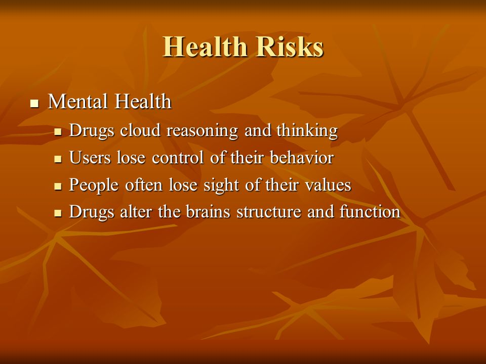 risky health behavior