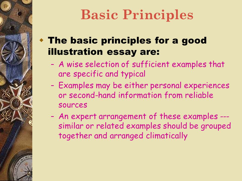 lecture eleven illustration ppt video online  basic principles the basic principles for a good illustration essay are a wise selection of