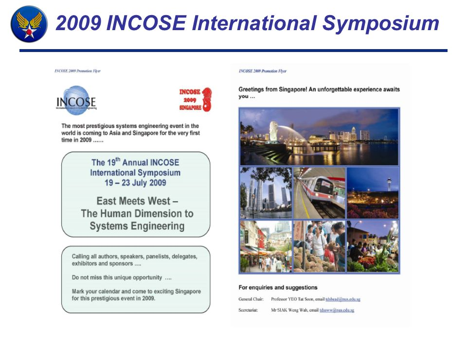 2009 INCOSE International Symposium