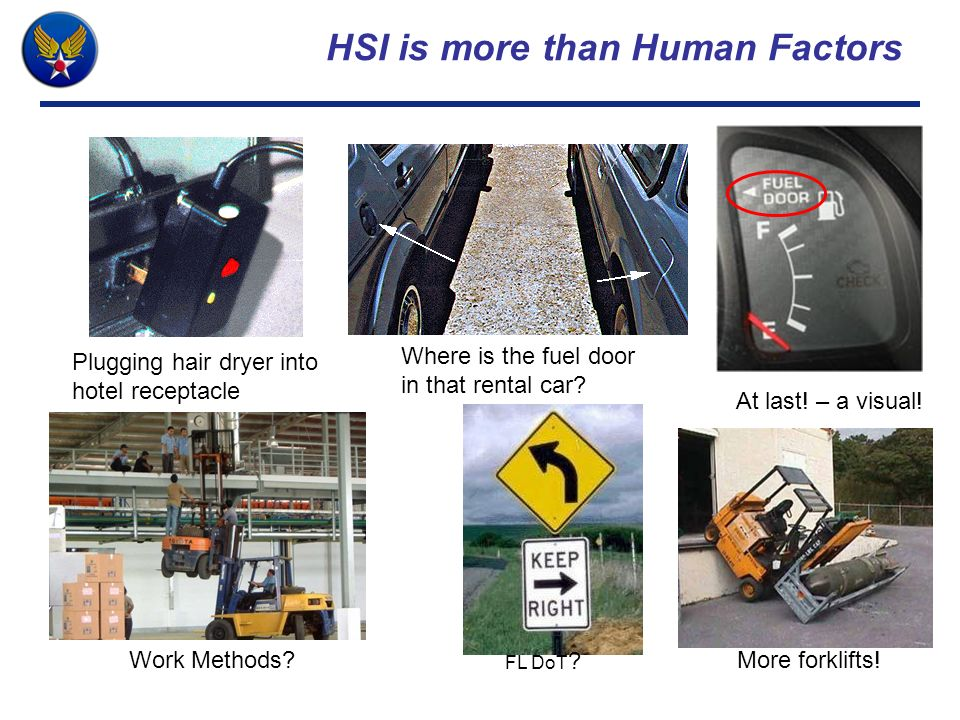 HSI is more than Human Factors