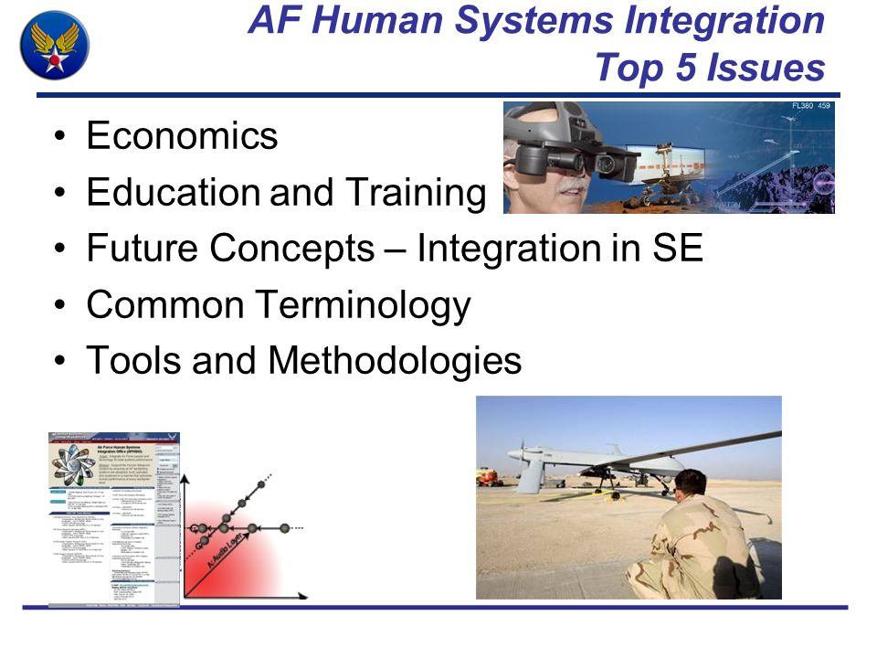AF Human Systems Integration Top 5 Issues