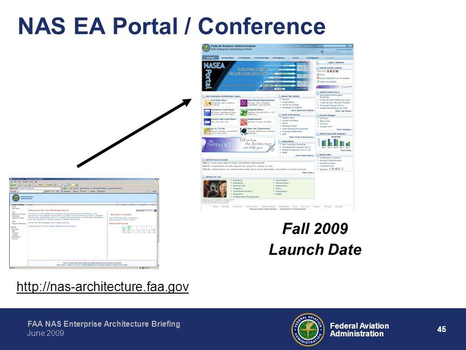 NAS EA Portal / Conference