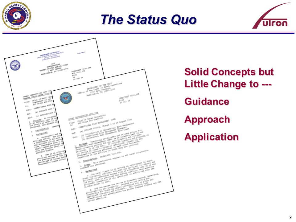 The Status Quo Solid Concepts but Little Change to --- Guidance