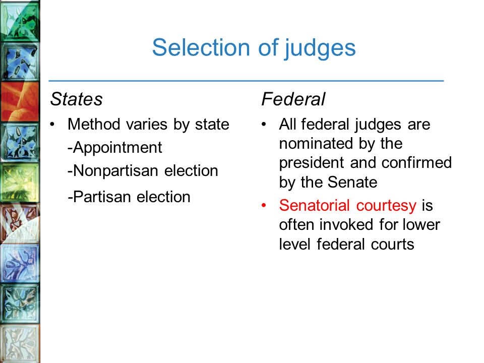disadvantages of non partisan judge elections Partisan election of judges  though the basic premise of partisan elections is the same from state to state, there is some variation in how the elections are .