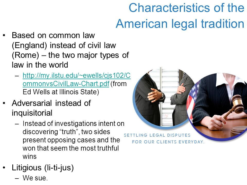 characteristics common law As a student of law firm management, for the many years that i have been a management consultant to law offices, i have always been intrigued by those characteristics that are present in the more financially and professionally successful law firms that are wholly or partially lacking in under-achieving firms.