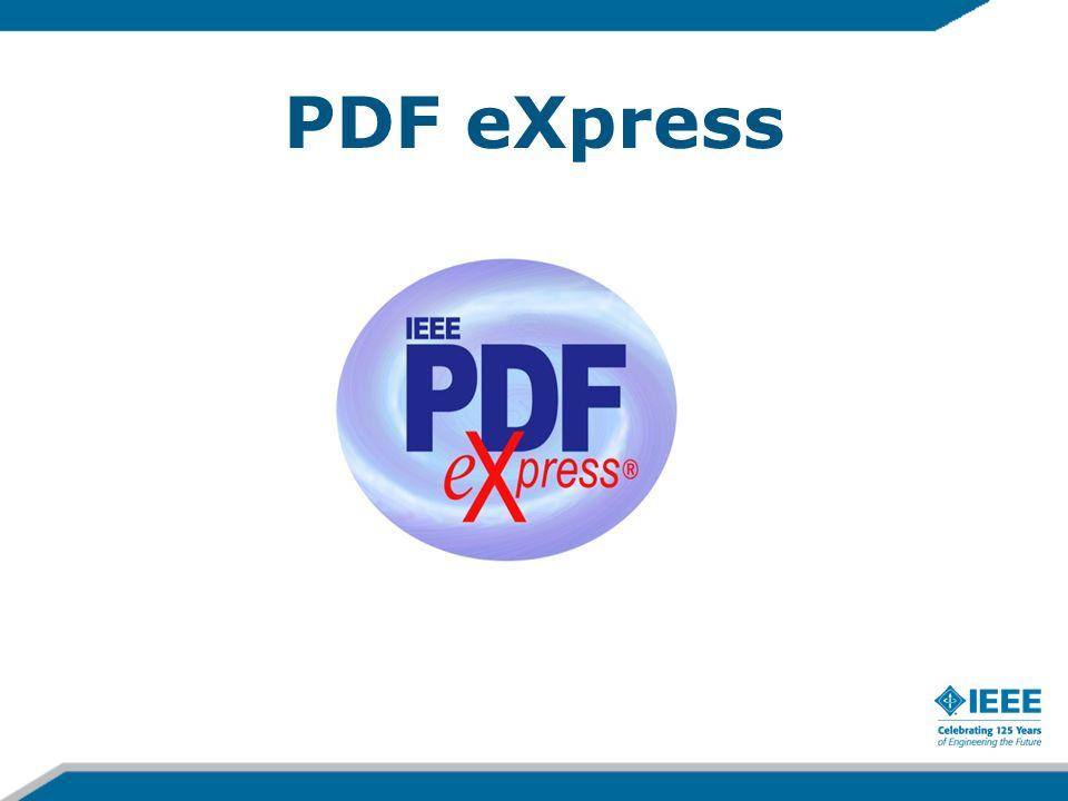 PDF eXpress