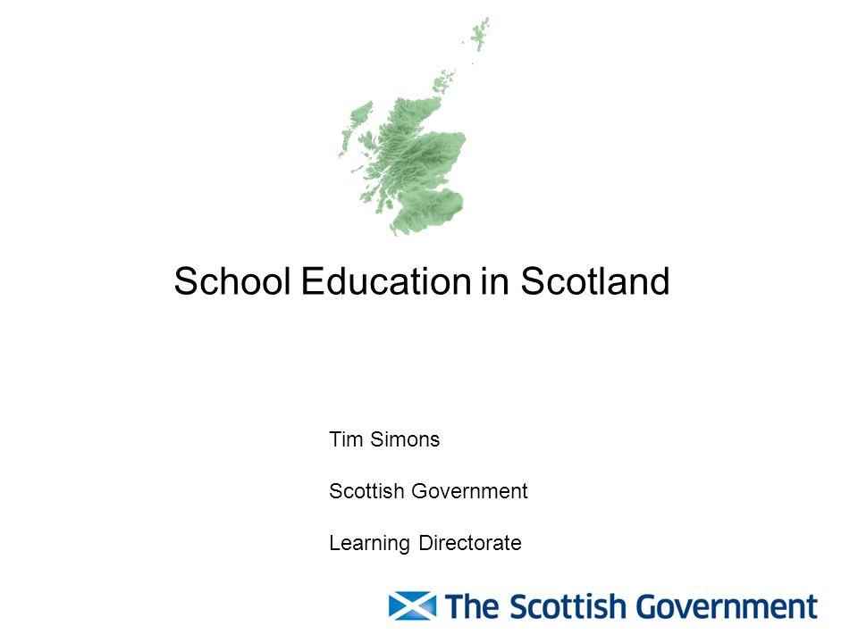 School Education in Scotland