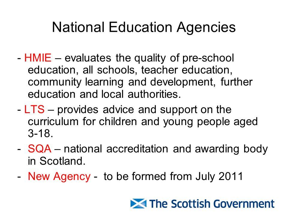 National Education Agencies