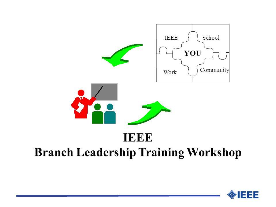 Branch Leadership Training Workshop