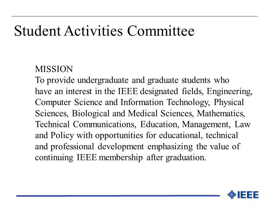 Student Activities Committee