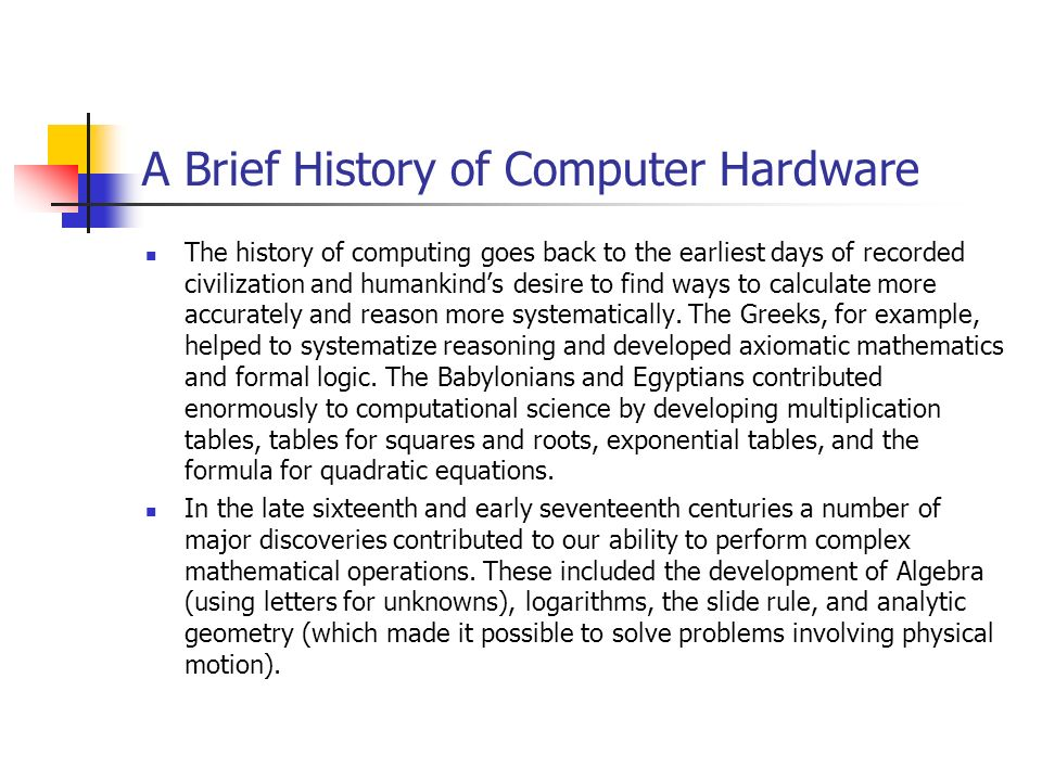 a brief history on the evolution of computers Vernon technology solutions offers businesses the ability to rent computers and electronics for  a brief history of portable computers  laptop evolution.