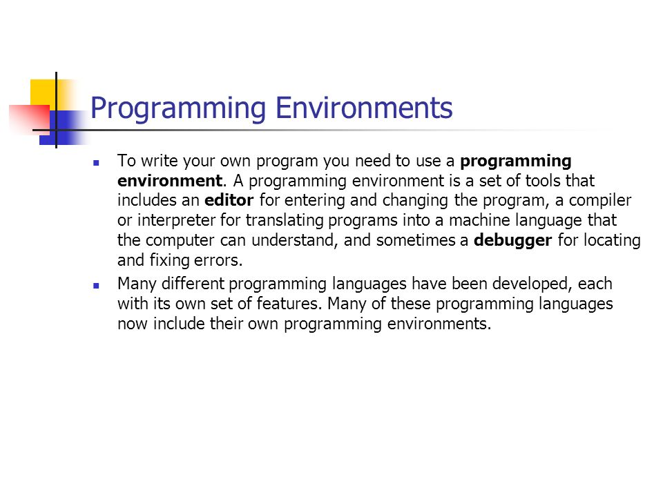 the nature and role of computer programmer