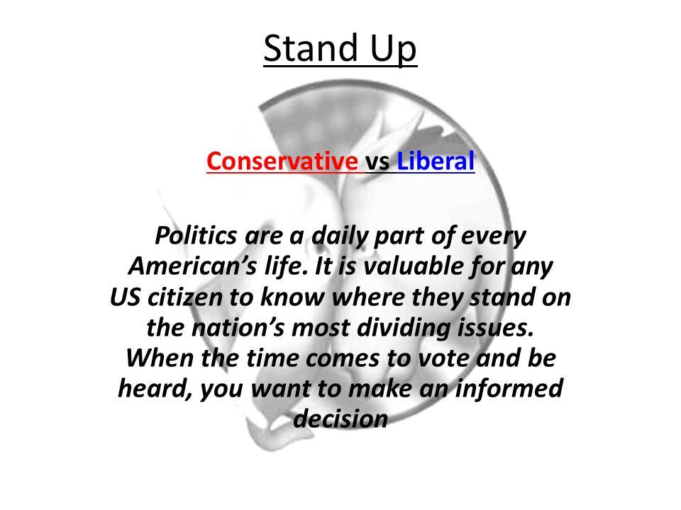 conservative vs liberal ppt video online download