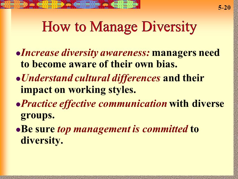 how to become a diversity manager