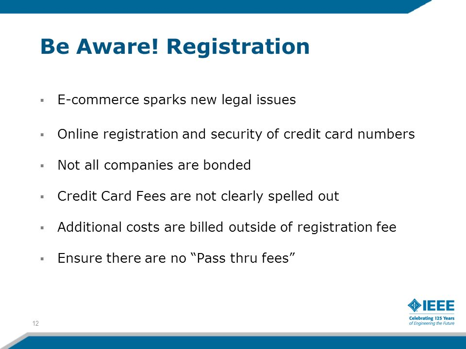 Be Aware! Registration E-commerce sparks new legal issues