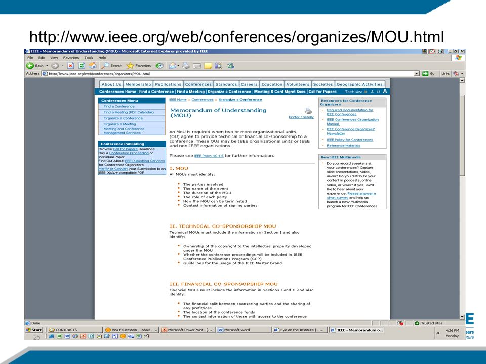 3/27/2017 http://www.ieee.org/web/conferences/organizes/MOU.html