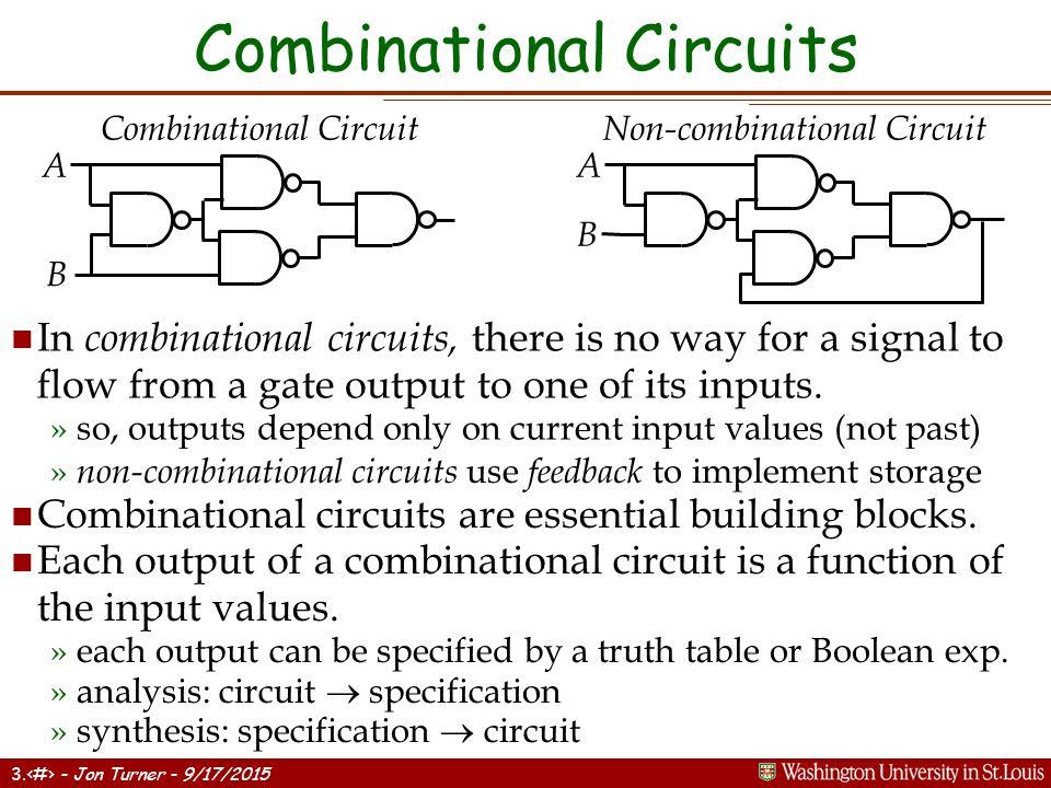 logic gates and combinational circuits pdf