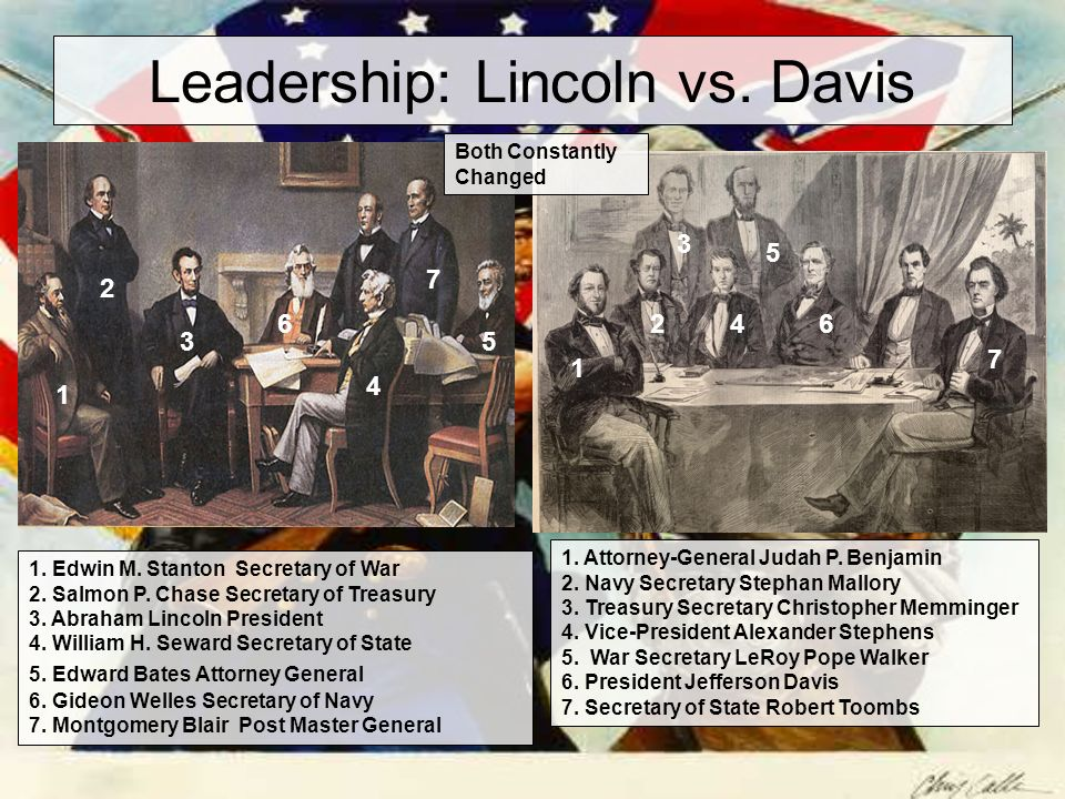 lincoln vs davis essay Abraham lincoln vs george washington comparison abraham lincoln and george washington are two of the most famous presidents in united states history they both served two terms in office during their own time and are memorialized in the present by statues, us currency, and mount rushmore.