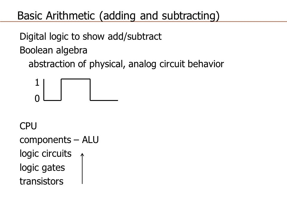 Basic Arithmetic (adding and subtracting) - ppt video online download