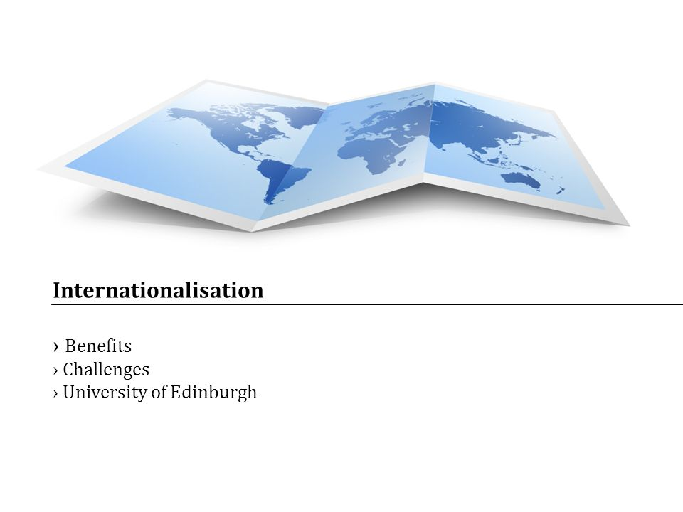 Internationalisation Benefits