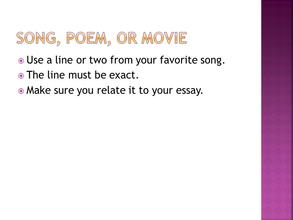 writing powerful and effective hooks ppt  7 song
