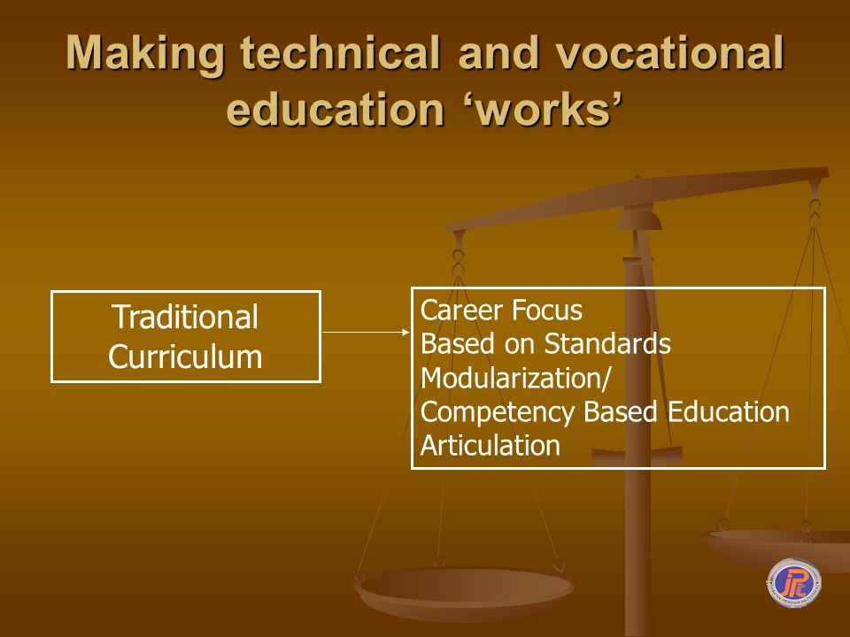 Making technical and vocational education 'works'