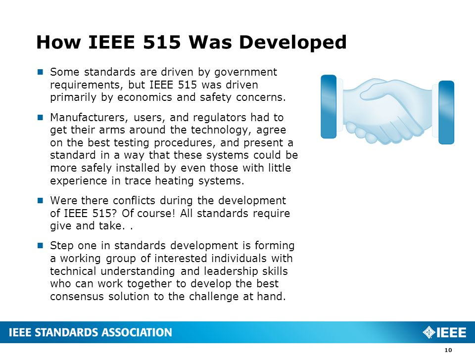 How IEEE 515 Was Developed