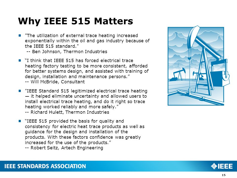 Why IEEE 515 Matters