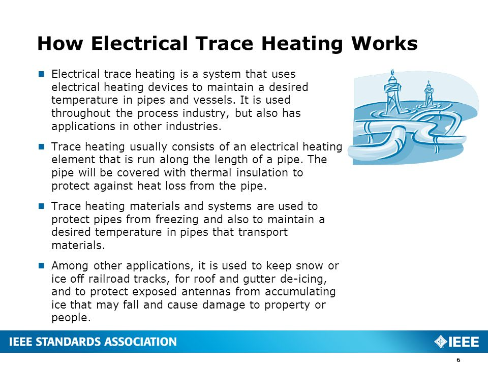 How Electrical Trace Heating Works