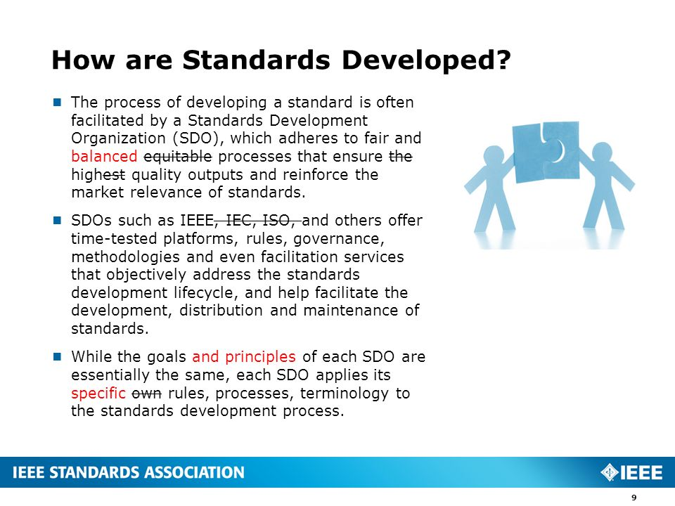 How are Standards Developed
