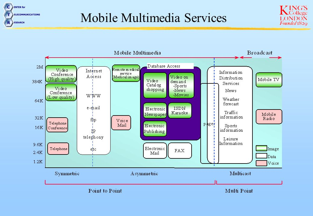 Mobile Multimedia Services
