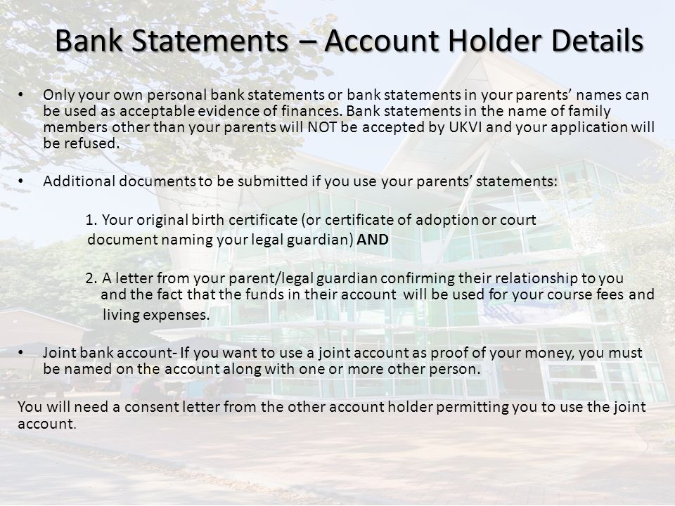 Tier 4 visa maintenance requirements ppt video online download 15 bank statements thecheapjerseys Gallery