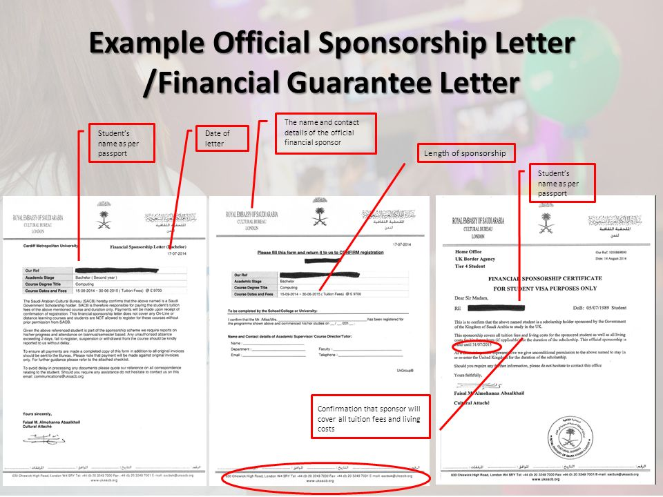 Tier 4 visa maintenance requirements ppt video online download 17 example official sponsorship letter thecheapjerseys Images