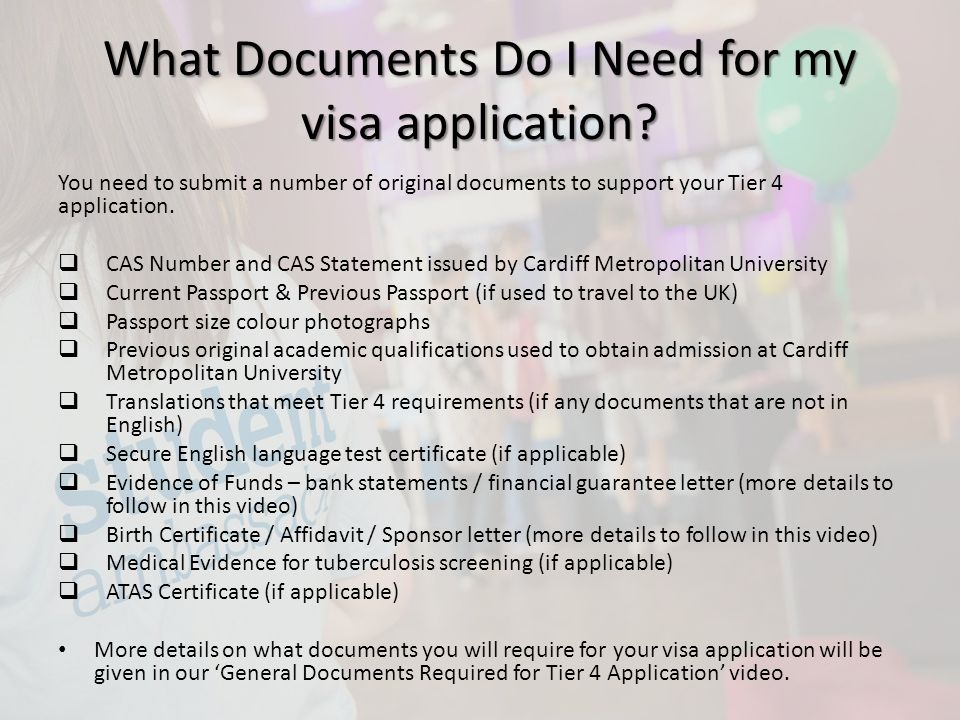 Tier 4 visa maintenance requirements ppt video online for Documents you need for passport