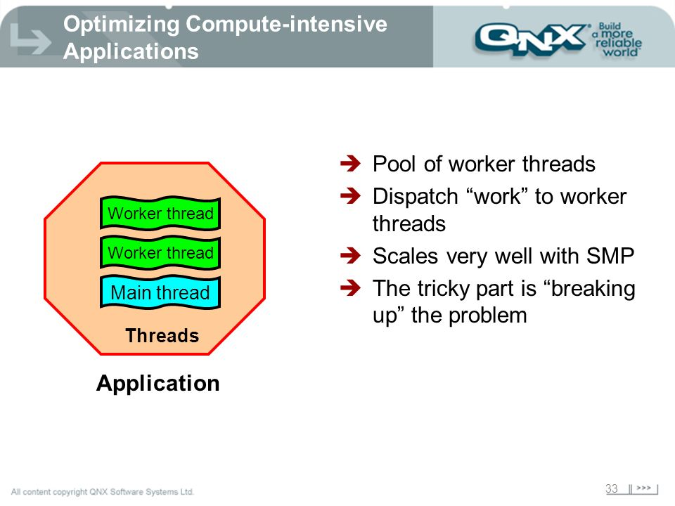 Optimizing Compute-intensive Applications