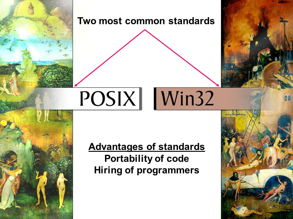 Advantages of standards