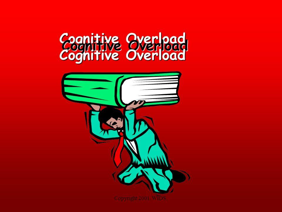 Cognitive Overload Cognitive Overload Cognitive Overload