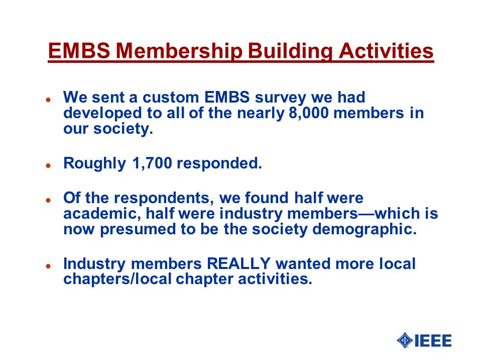 EMBS Membership Building Activities