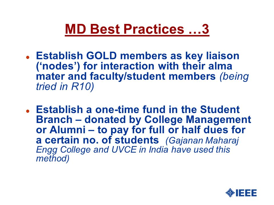 MD Best Practices …3