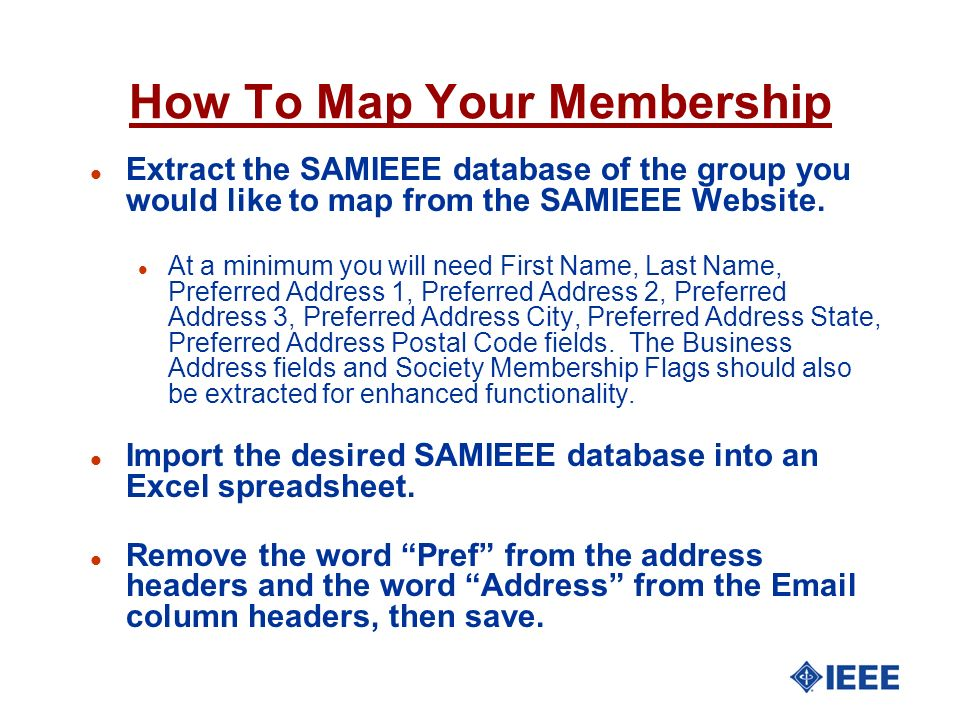 How To Map Your Membership
