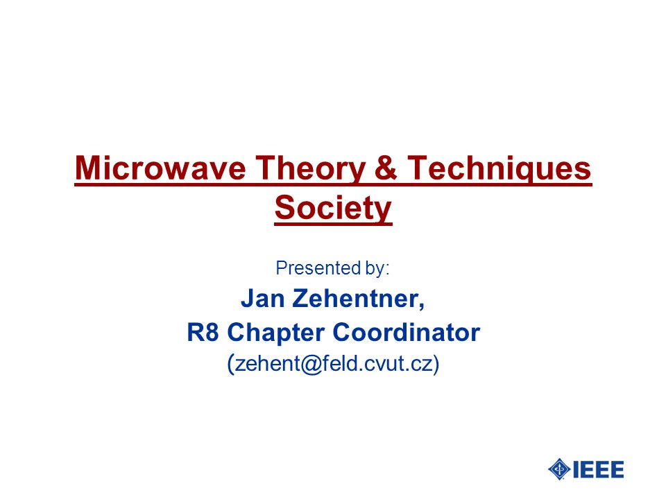 Microwave Theory & Techniques Society