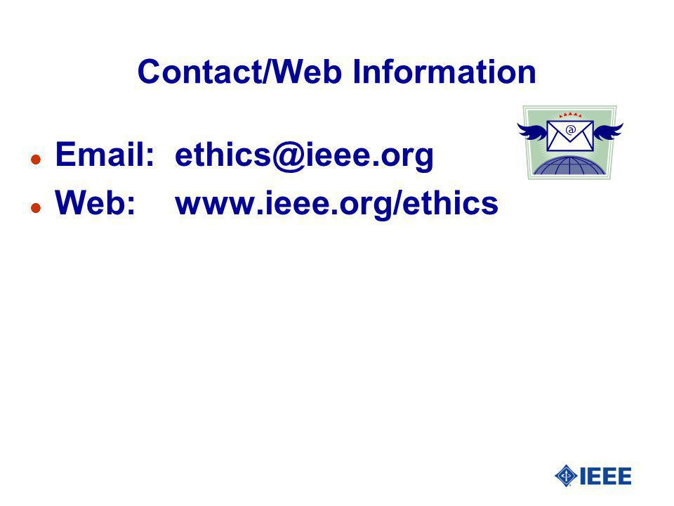Contact/Web Information