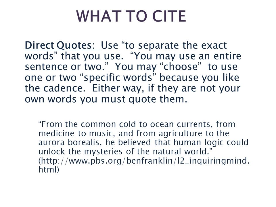 should you use quotes in a research paper 4 days ago  this guide shows you how to cite using mla 8th edition  how do i cite more  than one source in one in-text citation  in mla, in-text citations are inserted in  the body of your research paper to briefly document the source of.