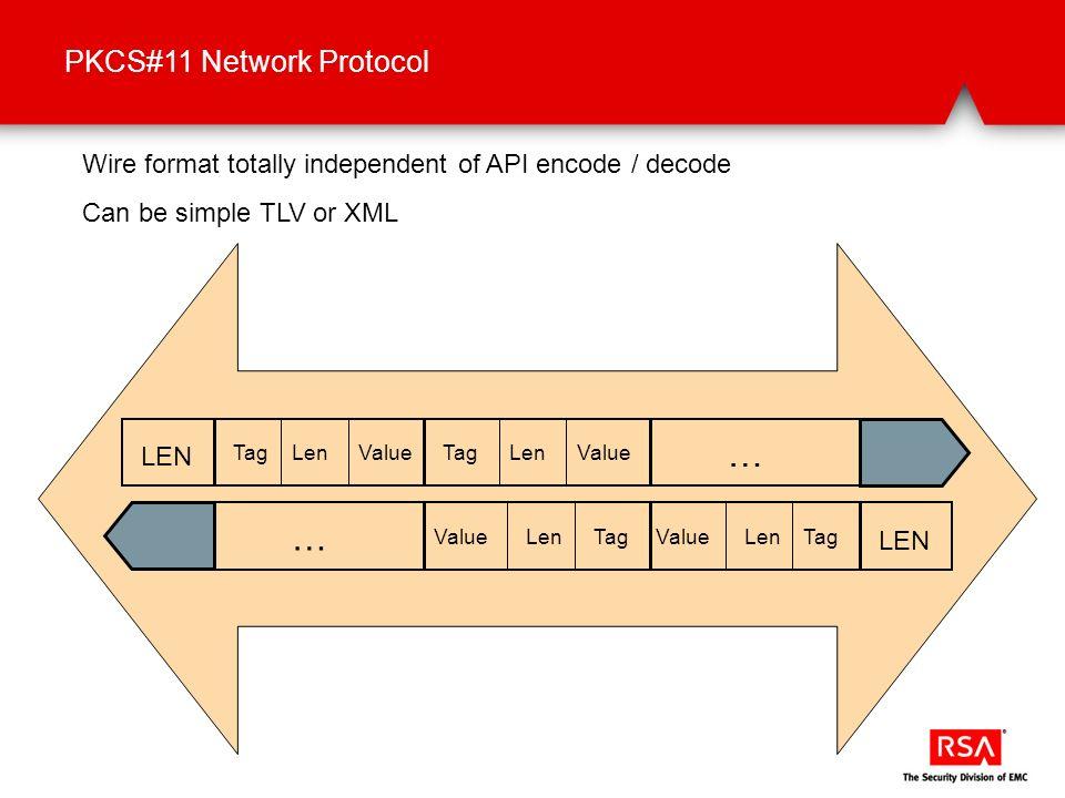 … … PKCS#11 Network Protocol