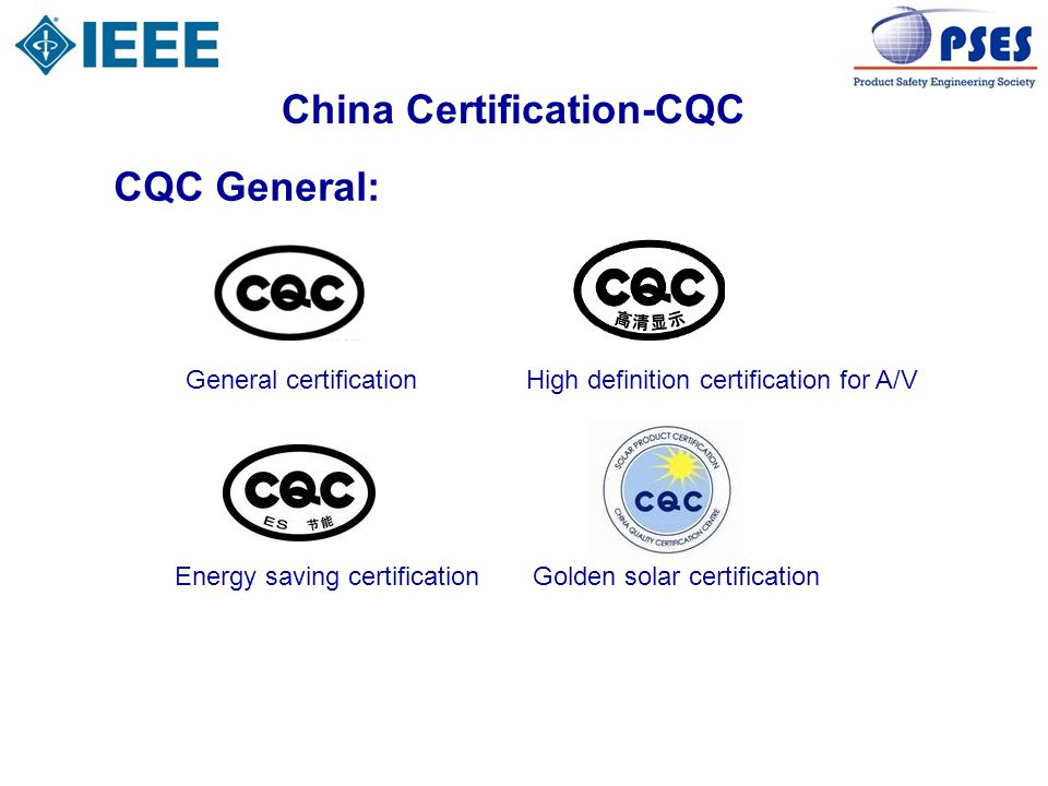 China Certification-CQC