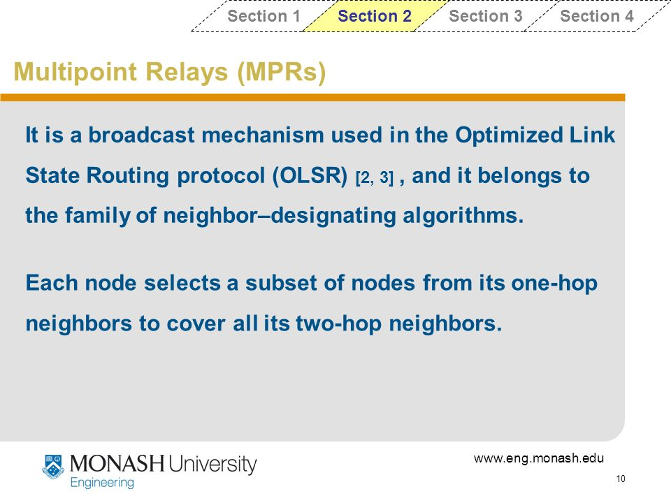 Multipoint Relays (MPRs)