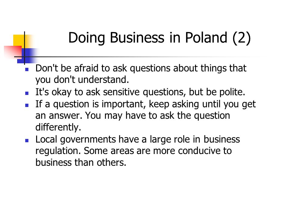 Doing Business in Poland (2)
