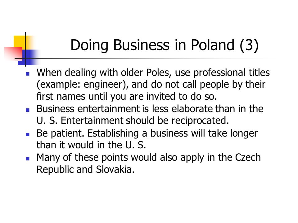 Doing Business in Poland (3)