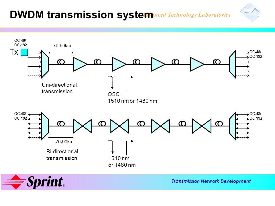 DWDM transmission system