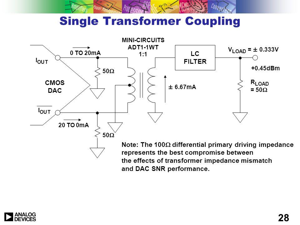 Single Transformer Coupling
